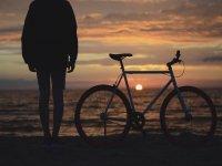 We pedal near the sea!