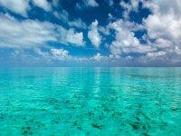 le acque cristalline che ci zircondano