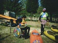 Kayak per disabili