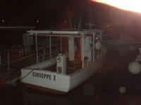 la barca pronta a salpare