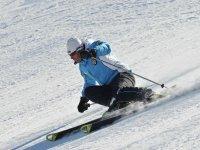 Skiing and fun