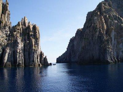 Girolama Eolie Escursione in Barca