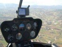 Comando di un elicottero