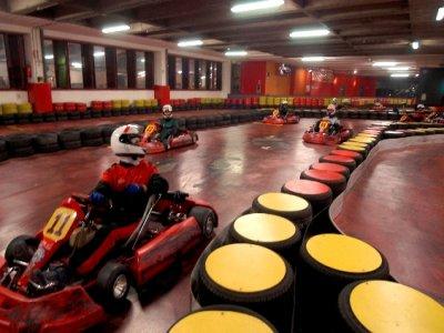 Affitto pista go kart 1 ora per gruppi
