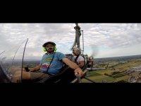 Selfie in volo