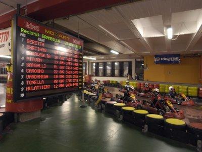 Go-kart a Milano Gran Turismo da 25 minuti