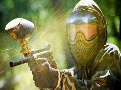 Paintball match in Costabissara of 1 hour and 30 minutes