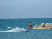 Kitesurf a Falconara