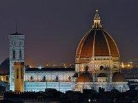 Che bella Firenze alle prime luci dell'alba