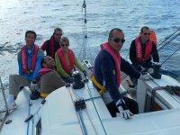 At sailing school