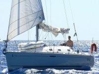 Sole mare in sailboat