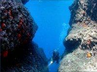 Scuba diving in