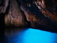 Interior of the Blue Grotto