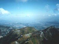 Trekking among the mountains