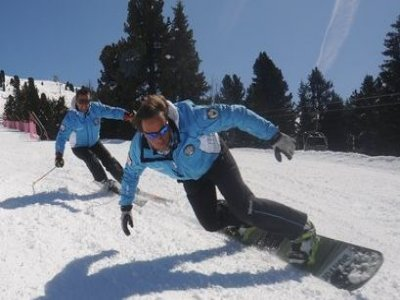 Scuola Sci Alpe Cermis Cavalese Snowboard