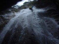 Discendendo la cascata