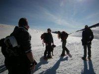 Gite di gruppo sulla neve