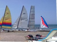 Courses on dinghies or catamarans