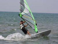Windsurfing at Fiumicino