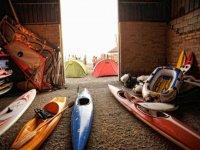 Kayak and canoe rental