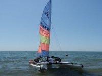 Sailing at Fiumicino