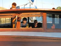 La plancia di bordo