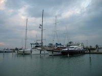 Nel porto di Fano
