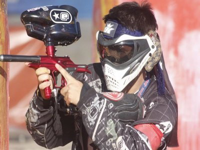 1 hour paintball match in Costabissara
