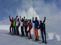 il nostro gruppo dei corsi di sci