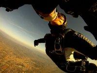 Bacio con paracadute
