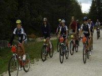Mountainbike di gruppo