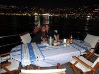 Cene in barca