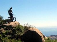 In bici sull isola