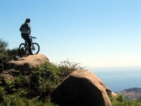 Mountainbike sull isola