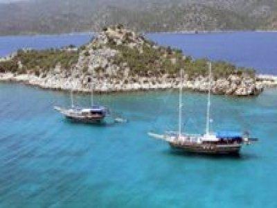 Sail boat. Croatia-Dalmatia