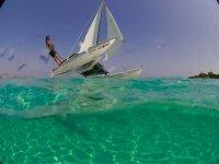 Corso di catamarano
