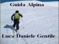 Guida Alpina Luca Daniele Gentile Sci