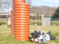 Giocatore paintball umbria