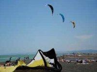 Avventura in kitesurf