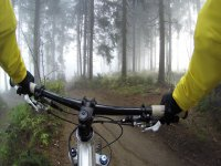 vista dalla bici