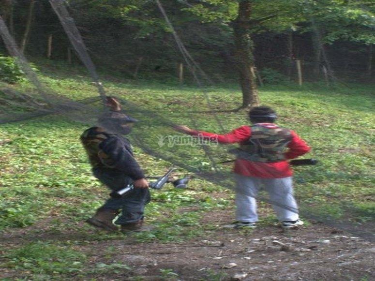 Giocatori in campo