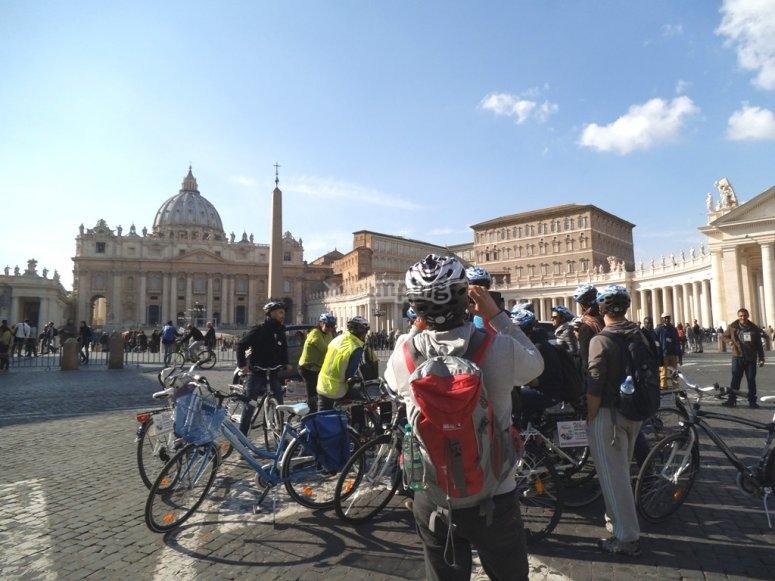 Davanti a San Pietro