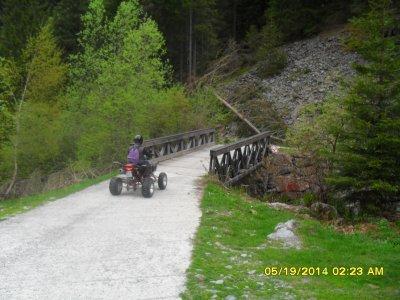 Gita in quad per una persona 4 ore a Valtellina