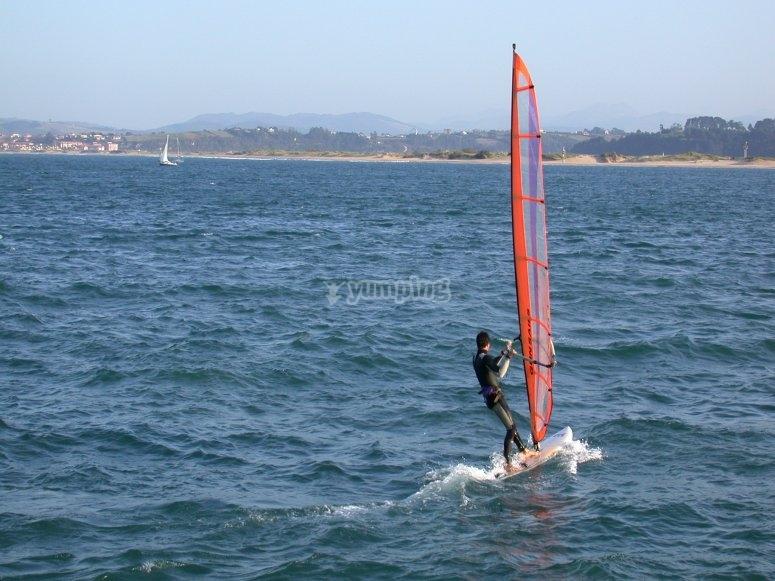 corso di Windsurf per adulti