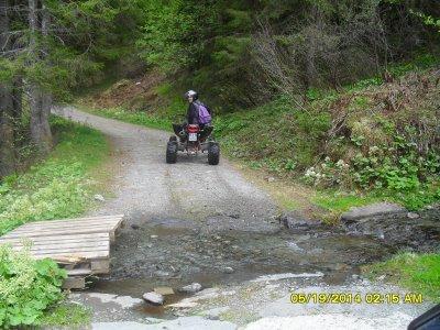 Escursione 2 ore in quad per una persona
