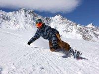 il divertimento dello snowboard