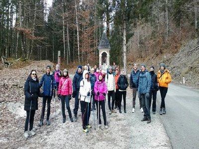 Walking naturalistic ring Monte Grappa