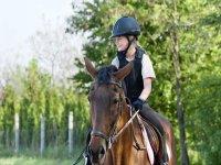 Lezione e passeggiata a cavallo Ponte S.Lucia 1ora