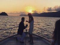 Momenti romantici nelle nostre barche