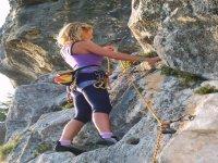 roccia splendida a Roccamorice (PE) Abruzzo